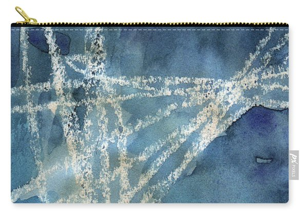 Flight Path- Abstract Painting Carry-all Pouch