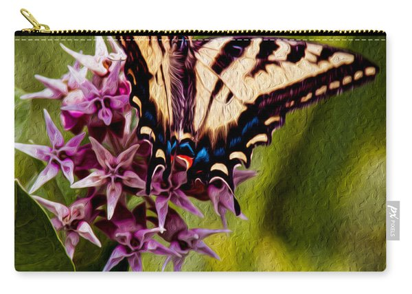 Float Like A Butterfly Carry-all Pouch