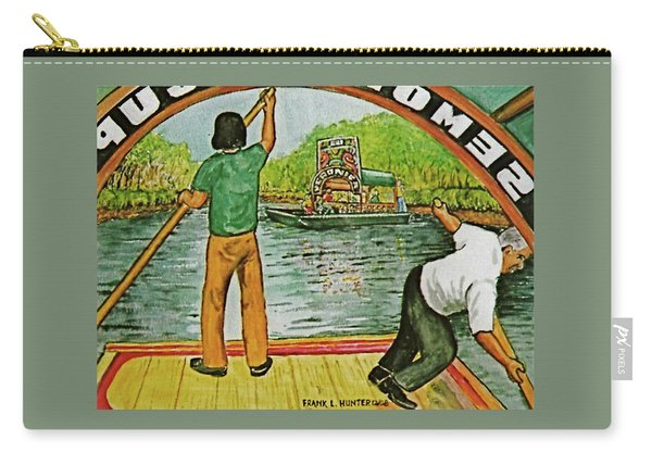 Floating Gardens Xochimilcho Mexico Carry-all Pouch