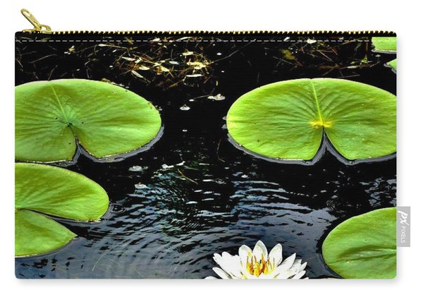 Floating Lily Carry-all Pouch