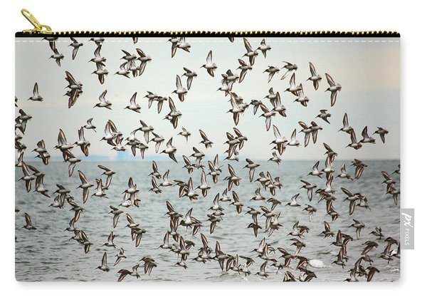 Flock Of Dunlin Carry-all Pouch