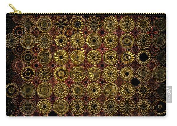 Flora Spiro Metal Quilt Carry-all Pouch