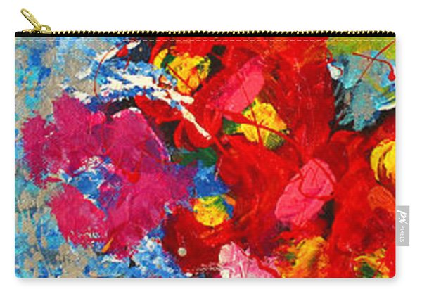 Floral Abstract Part 3 Carry-all Pouch