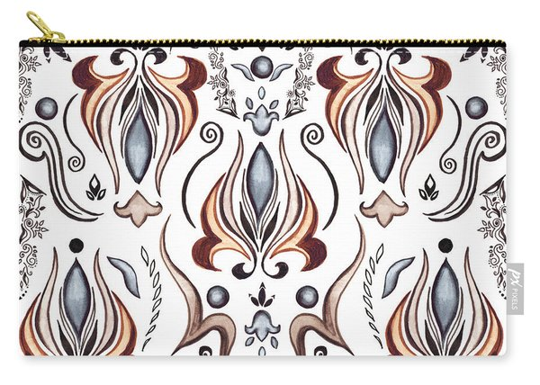 Floral Pattern I Carry-all Pouch