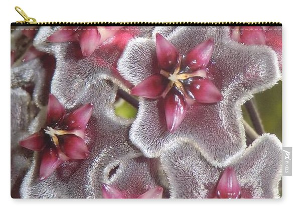 Floral Presence - Signed Carry-all Pouch