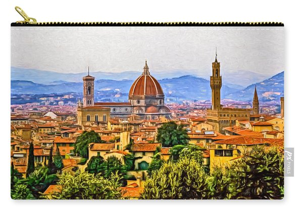 Florence Panorama - Paint Carry-all Pouch