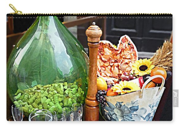 Florentine Still Life Italy Florence Carry-all Pouch