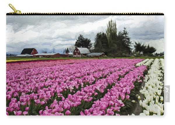 Flower Art - Spring Fever Carry-all Pouch