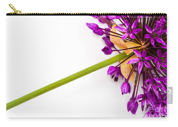 Flower At Rest Carry-all Pouch