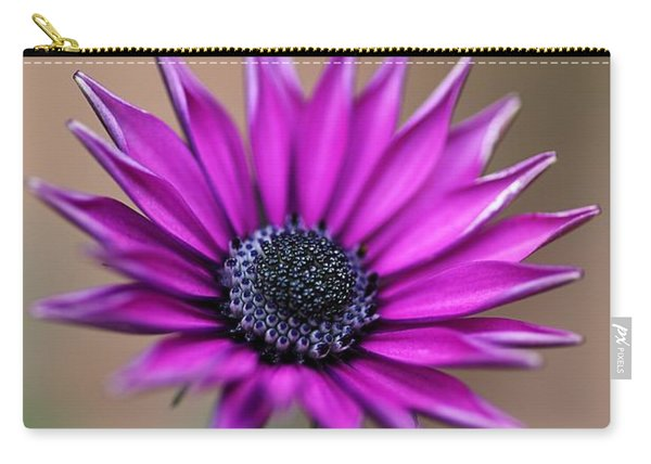 Flower-daisy-purple Carry-all Pouch
