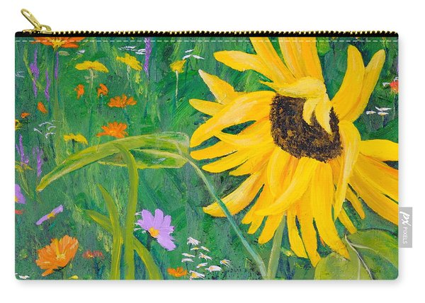 Flower Fun Carry-all Pouch
