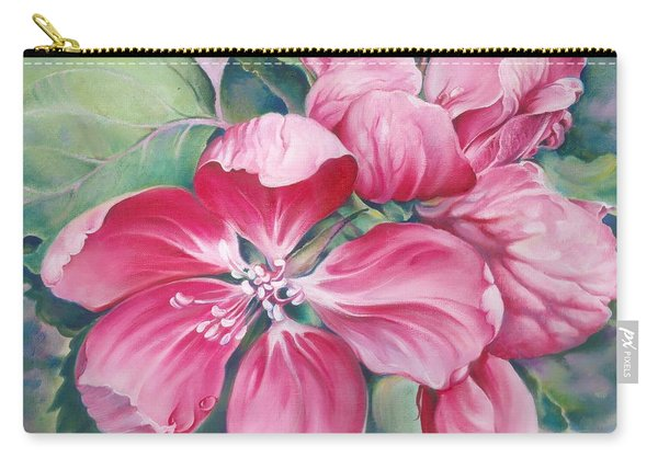 Flower Of Crab-apple Carry-all Pouch