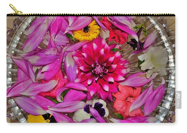Flower Offerings - Jabalpur India Carry-all Pouch