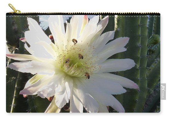 Flowering Cactus 5 Carry-all Pouch