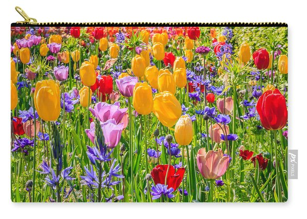 Flowers Everywhere Carry-all Pouch