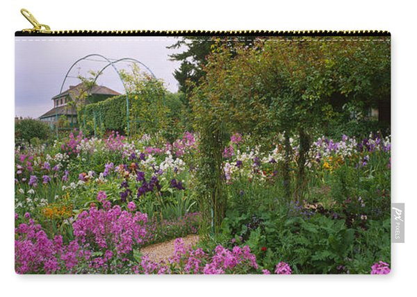 Flowers In A Garden, Foundation Claude Carry-all Pouch