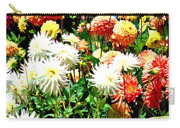 Flowers In Bloom Carry-all Pouch