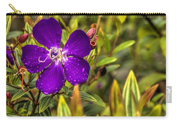 Flowers Love Water Carry-all Pouch