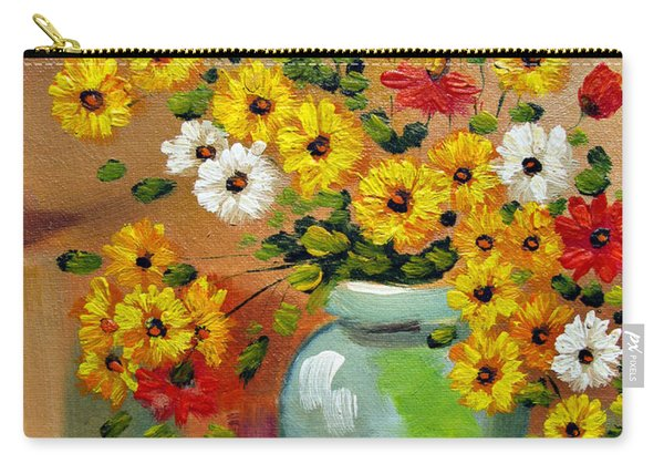 Flowers - Still Life Carry-all Pouch