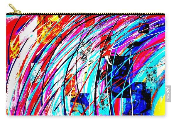 Fluid Motion Pop Art Carry-all Pouch