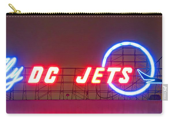 Fly Dc Jets Carry-all Pouch