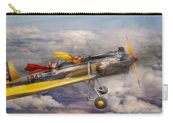 Flying Pig - Plane - The Joy Ride Carry-all Pouch