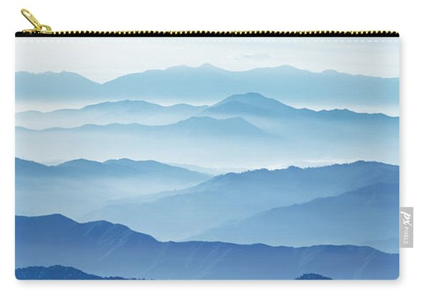 Fog Mountains Nagano Japan Carry-all Pouch