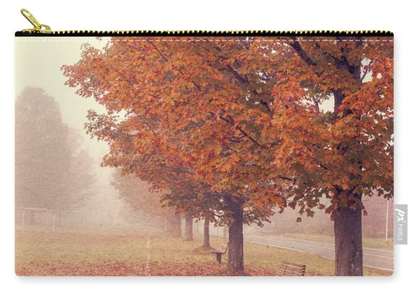 Foggy Autumn Morning Etna New Hampshire Carry-all Pouch