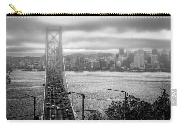 Foggy City Of San Francisco Carry-all Pouch