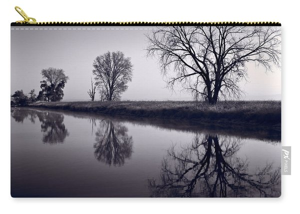 Foggy Morn Bw Carry-all Pouch