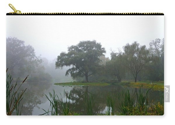 Foggy Morning At The Willows Carry-all Pouch