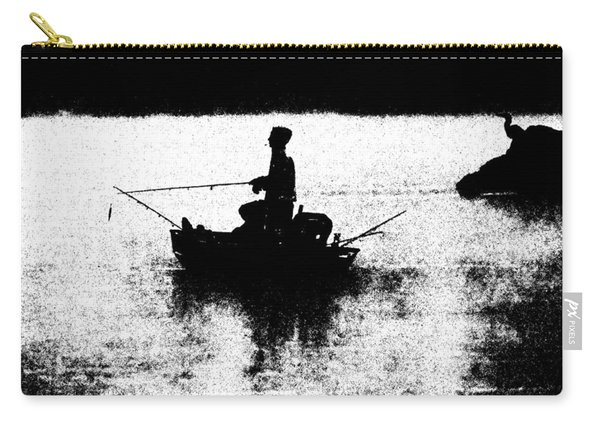 Foggy River Dawn Carry-all Pouch