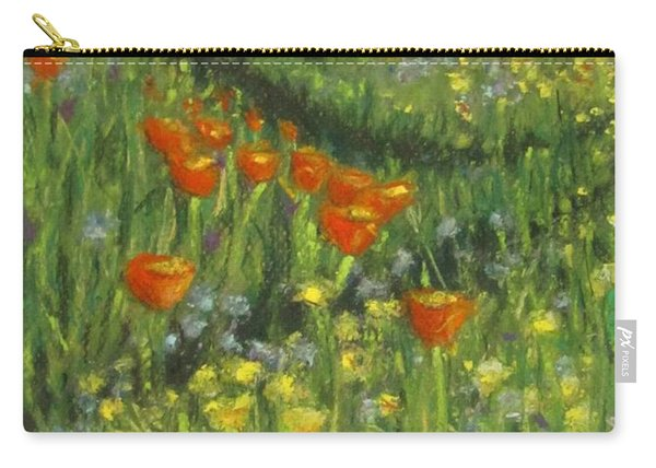 Poppy Trail Carry-all Pouch