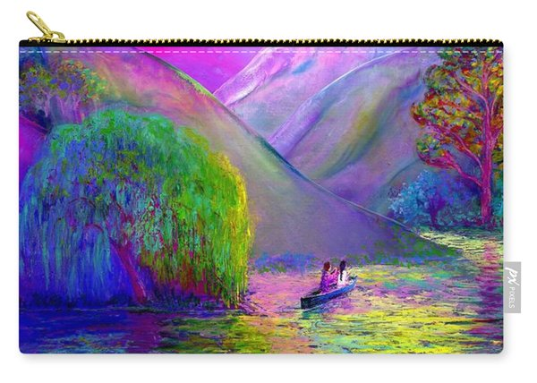 Love Is Following The Flow Together Carry-all Pouch