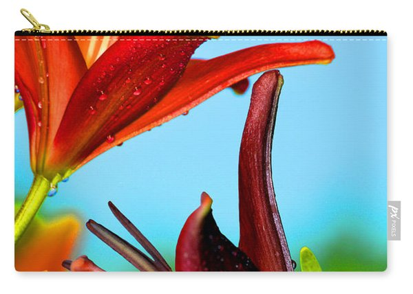 For The Love Of Lillies Carry-all Pouch