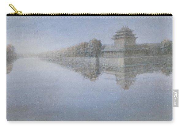 Forbidden City, 2012 Acrylic On Canvas Carry-all Pouch