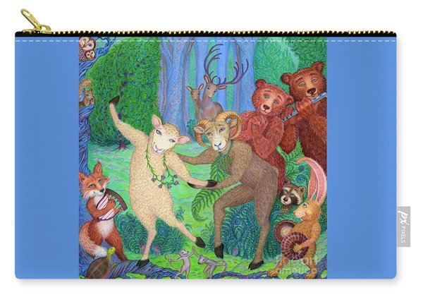 Forest Dance Carry-all Pouch