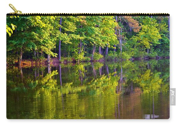 Forest In Reflection Carry-all Pouch
