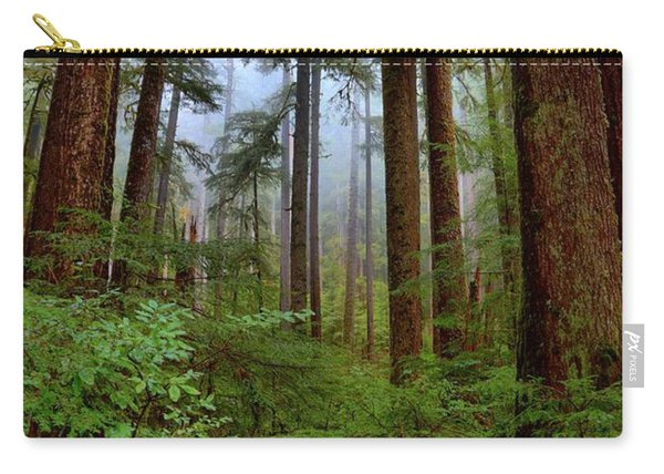 Forest Mist Carry-all Pouch