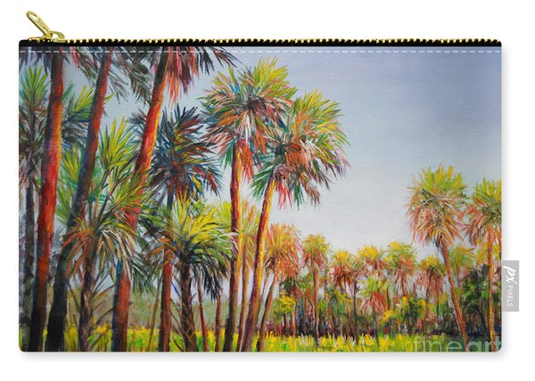 Forest Of Palms Carry-all Pouch