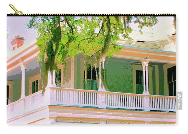On The Porch Savannah Ga Carry-all Pouch