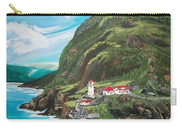 Fort Amherst Newfoundland Carry-all Pouch
