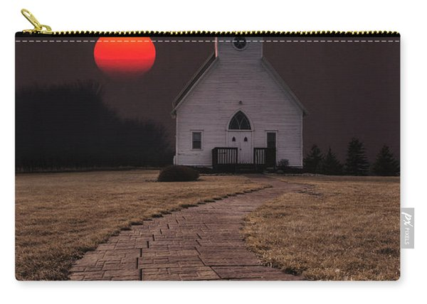 Fort Belmont Sunset Carry-all Pouch
