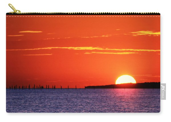 Fort Story Sunrise Carry-all Pouch