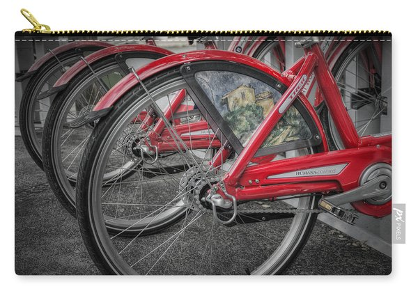 Fort Worth Bikes Carry-all Pouch