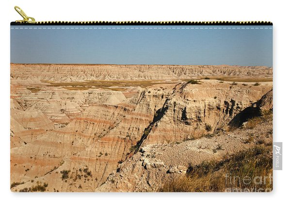 Fossil Exhibit Trail Badlands National Park Carry-all Pouch