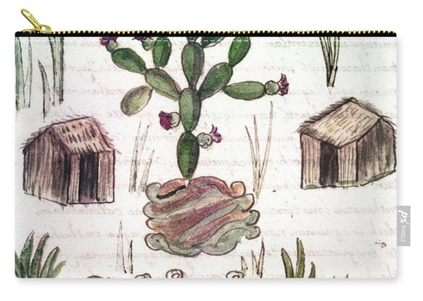 Founding Of Tenochtitlan Carry-all Pouch