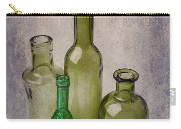 Four Green Bottles Carry-all Pouch