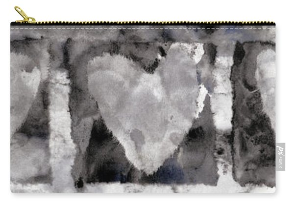 Four Hearts Carry-all Pouch