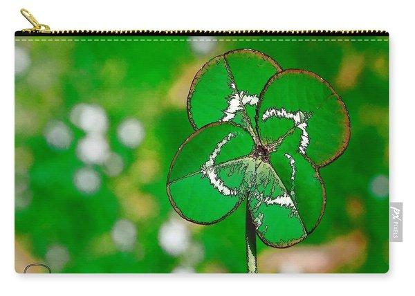 Four Leaf Clover Carry-all Pouch